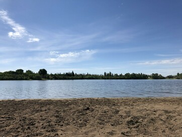 Beach at Hardisty Lake